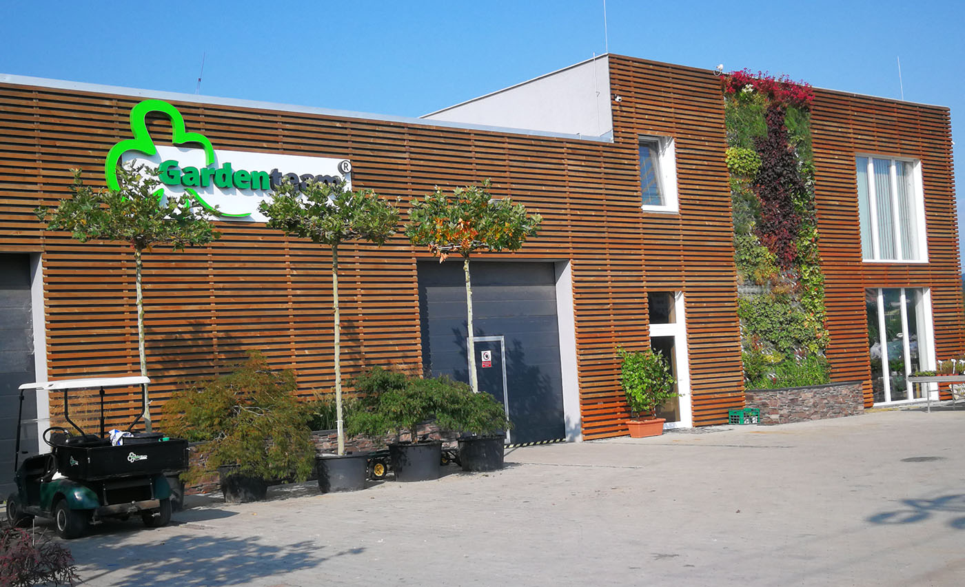 Záhradné centrum GARDEN TEAM Bytča
