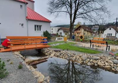 Centrum obce Domaniža 1