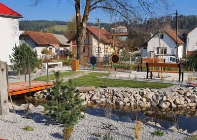 Centrum obce Domaniža 2