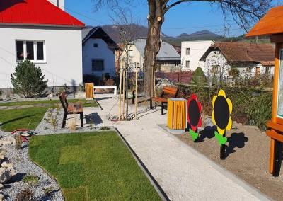 Centrum obce Domaniža 3