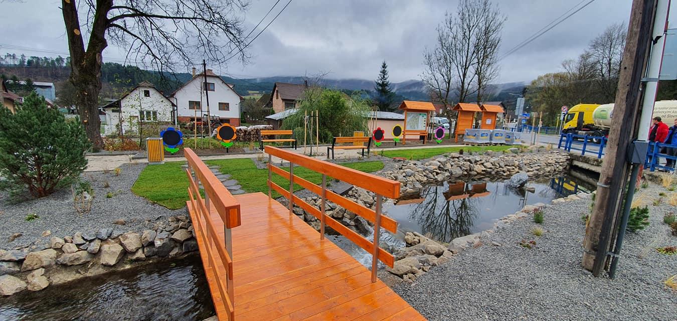 Centrum obce Domaniža 4