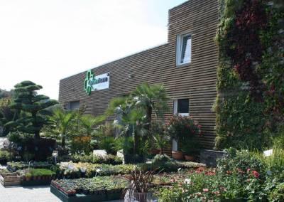 Záhradné centrum Bytča predajňa exteriér 1