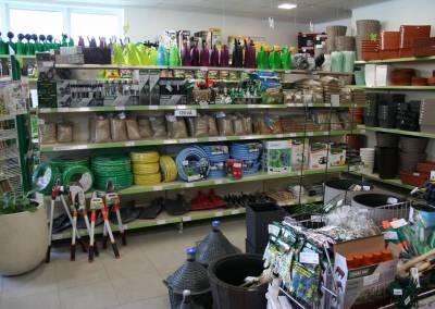 Záhradné centrum Bytča predajňa 7