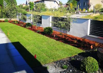 Realizácia záhrady v rovine